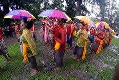 Rain festival Stock Images