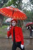 Rain festival Royalty Free Stock Image