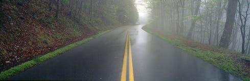 Rain on Foothill Parkway Stock Photo