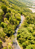 Rain Forest on the road to Kuranda. Rai n Forest near Kuranda Village, Queensland, Australia stock image