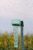 Rain gauge three Stock Photography