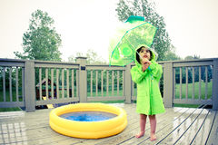 Rain gears Royalty Free Stock Photo