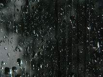 Rain on glass Royalty Free Stock Images