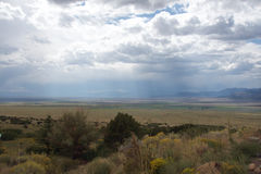 Rain in the High Desert royalty free stock photography