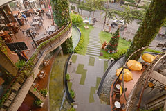 Rain Hill Plaza commercial complex in Bangkok Royalty Free Stock Photography