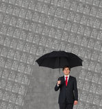 Rain of house Royalty Free Stock Images