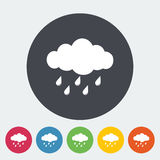 Rain icon Stock Images