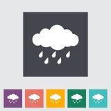 Rain icon Stock Photo