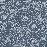 Rain in Kyoto - seamless pattern. Cute hand-drawn pattern with Japanese umbrellas and raindrops. Vector background vector illustration