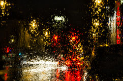 Rain & Lights - Abstract Royalty Free Stock Images