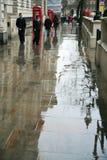 Rain in London Stock Photography