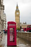 Rain in London Royalty Free Stock Photography