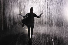 Rain in London Royalty Free Stock Photo
