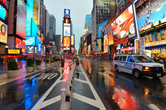 Rain in Manhattan royalty free stock images