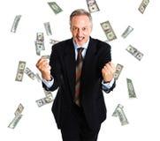 Rain of money Stock Photography