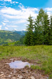 After rain in mountains Royalty Free Stock Photos
