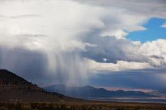 Rain in mountains Royalty Free Stock Photo