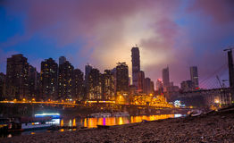 Night in Chongqing Stock Image