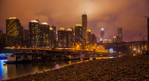 Night in Chongqing Stock Images