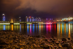 Night in Chongqing Royalty Free Stock Image