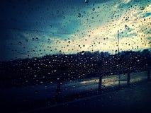 Rain outside Stock Image