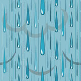 Rain pattern Stock Images