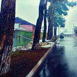 After rain. Photo was taken in Stepanakert Stock Images