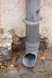 Rain pipe Royalty Free Stock Photography