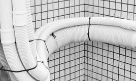 Rain pipe Stock Image