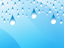 Rain Presentation Background Royalty Free Stock Image