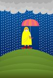 Rain, Rain Go Away, Come Another Day! Royalty Free Stock Photo