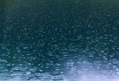 Rain ripples pattern Royalty Free Stock Images
