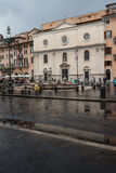 Rain In Rome Stock Image