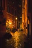Rain in Rome Stock Photography
