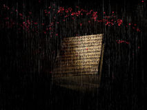 Rain's sound Royalty Free Stock Image