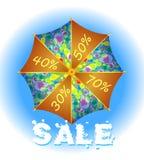 Rain sale Royalty Free Stock Image