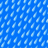 Rain, seamless background Royalty Free Stock Images