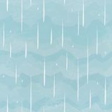 Rain seamless pattern Royalty Free Stock Image