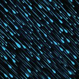 Rain seamless vector illustration Royalty Free Stock Photos