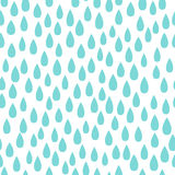 Rain. Seamless vector pattern background. Royalty Free Stock Photo