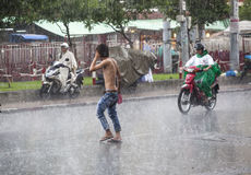 Rain season in Southeast Asia Stock Images