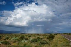 Rain Shaft Royalty Free Stock Photography