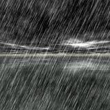 Rain shoreline Royalty Free Stock Images