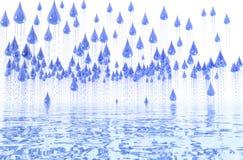 Rain shower. Stock Photography