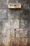 Rain shower Stock Image