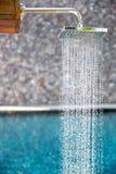 Rain shower Stock Images