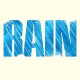 Rain sign Stock Image