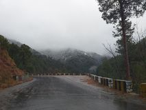 Rain &Snow stock photo