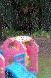 Rain stopped play Stock Photos