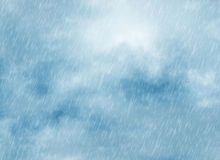 Rain storm backgrounds in cloudy weather Royalty Free Stock Photography